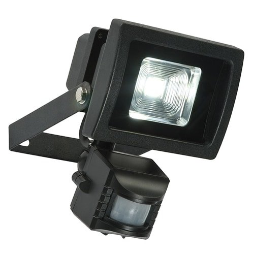 PIR Security Light LED Black