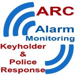 ARC Alarm Monitoring Keyholder and Police Response