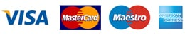 accepted cards payment