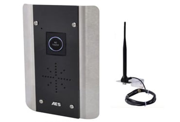 AES 4G Architectural GSM No Touch Audio Intercom