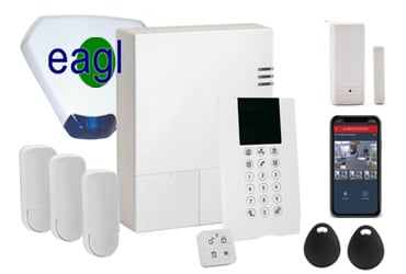 Risco WiComm Smart Home Alarm with Sounder